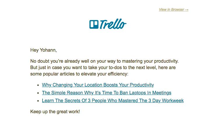 trello customer onboarding