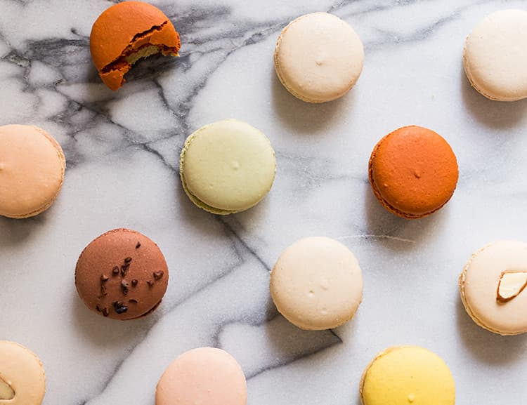 office morning tea ideas – macarons