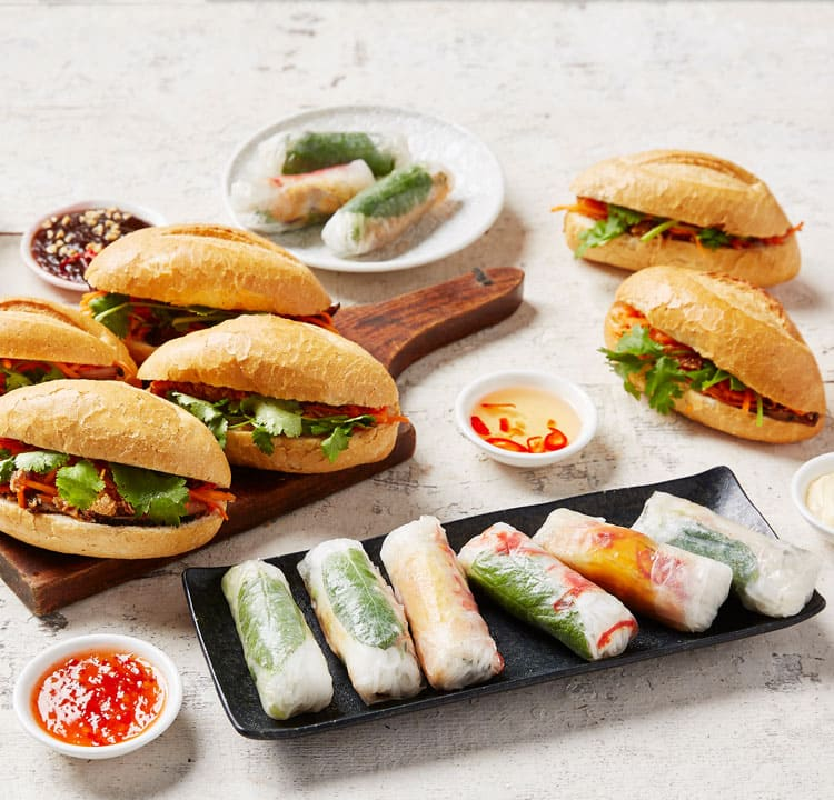 Vietnamese catering from Banoi - affordable staff lunch ideas