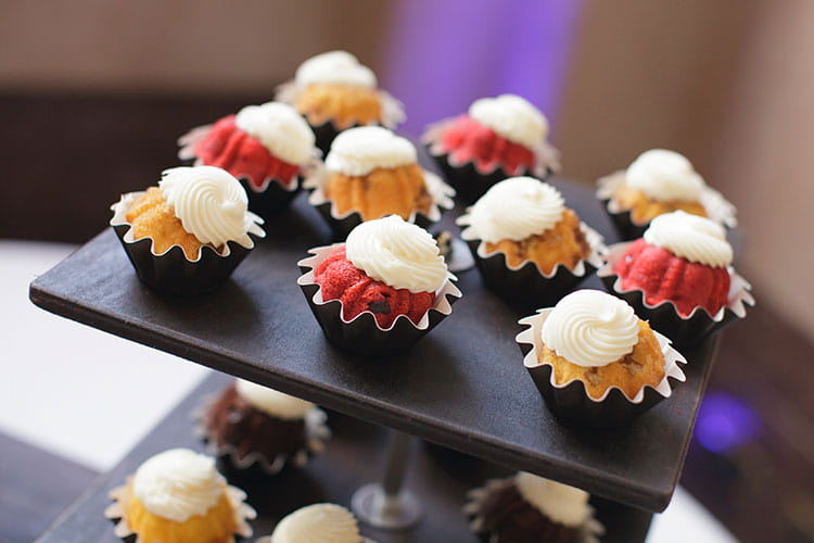 afternoon tea ideas - mini cupcakes