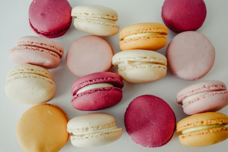Try macarons for your afternoon tea catering menu