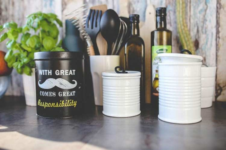 office kitchen supplies - crockery and cutlery
