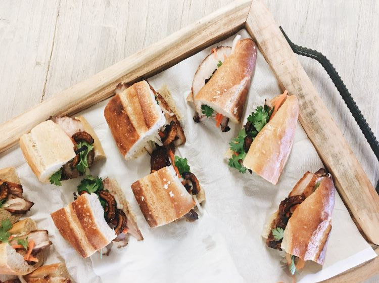 Sandwiches are a great option for last minute catering