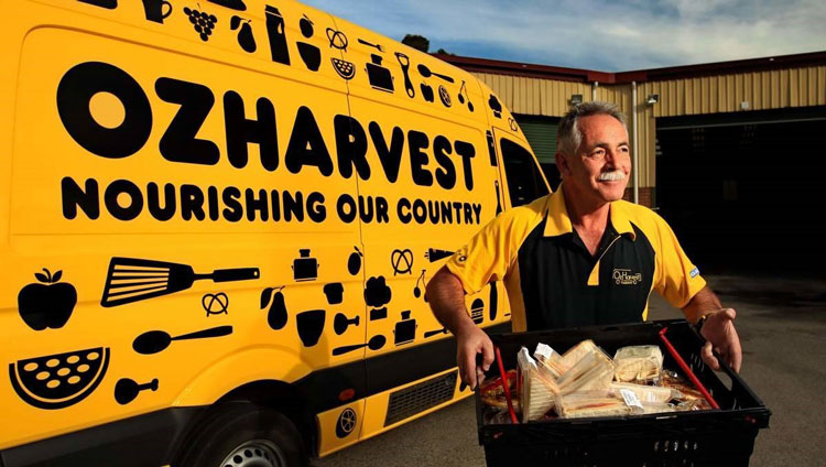donate extra corporate catering to OzHarvest