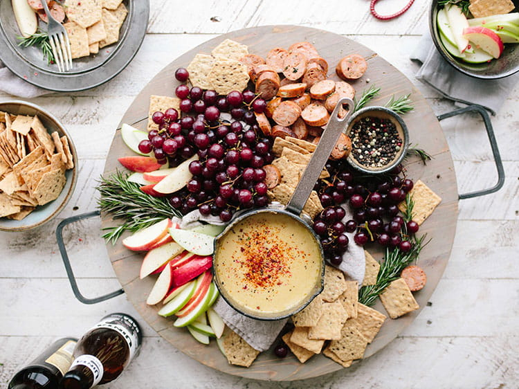 Festive grazing platter for your Christmas party