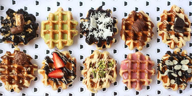 waffles from wafflo Melbourne