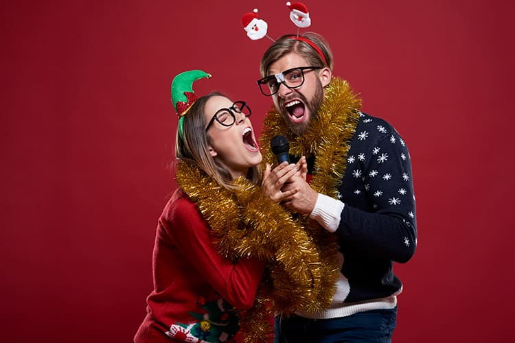 Make the office Christmas party fun with karaoke