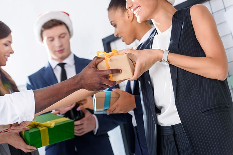 Celebrate Christmas in the office with Secret Santa