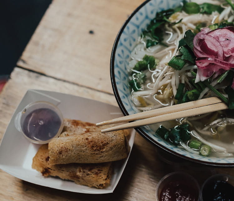 vietnamese catering from Roll'd - pho