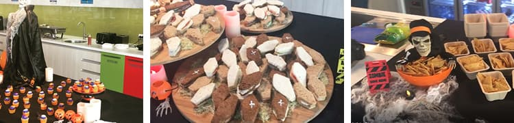 themed - halloween catering
