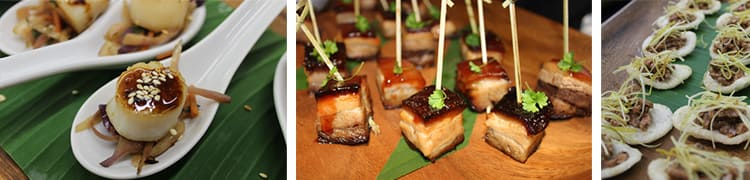 event catering - gourmet finger food