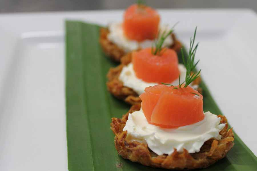 palace catering - finger food