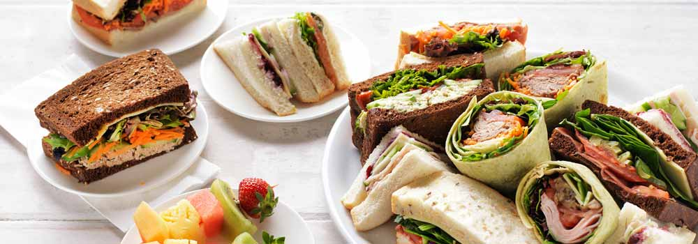 corporate catering at your company retreat