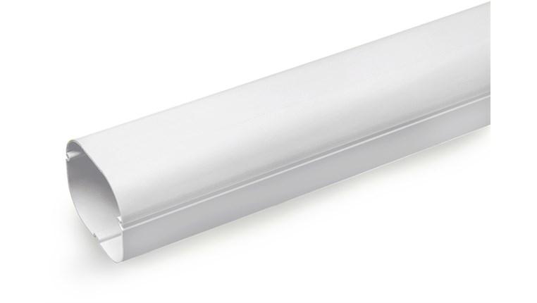 Slimduct Hvit 2m 77mm