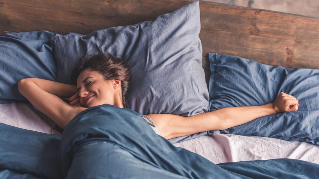 Aircondition på soverommet gir en et behagelig inneklima.