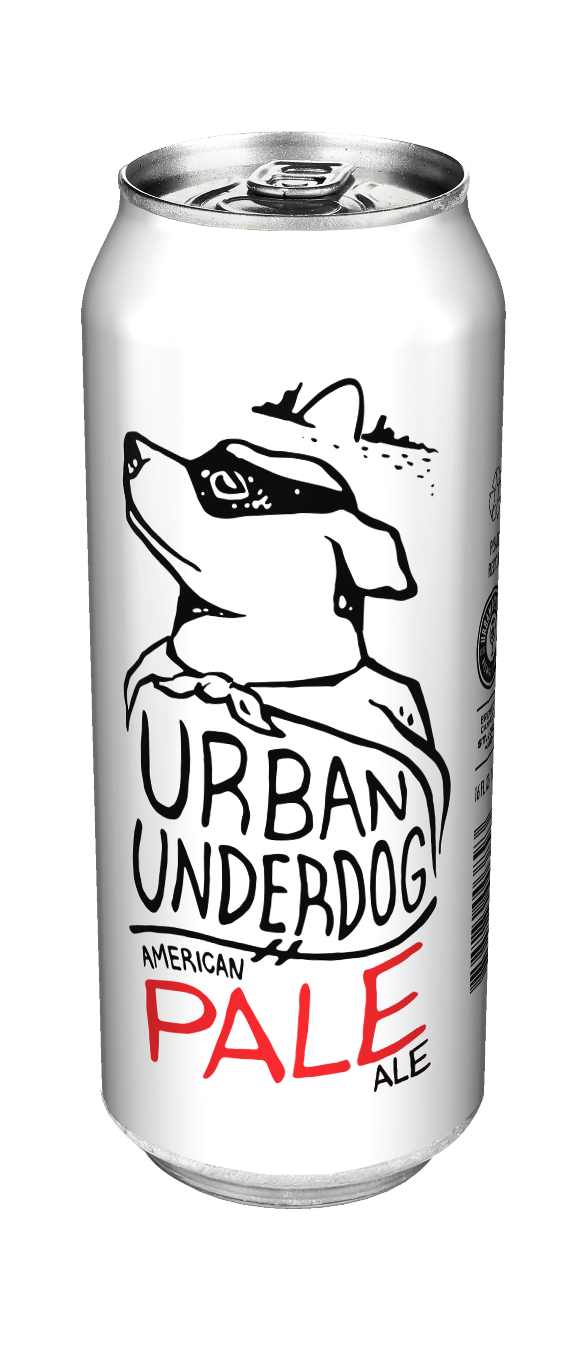 Urban Underdog American Pale—a lightly American-variety-hopped, effervescent Ale…and natural companion/best friend to Underdog American Lager. Everyone loves an underdog…or two!