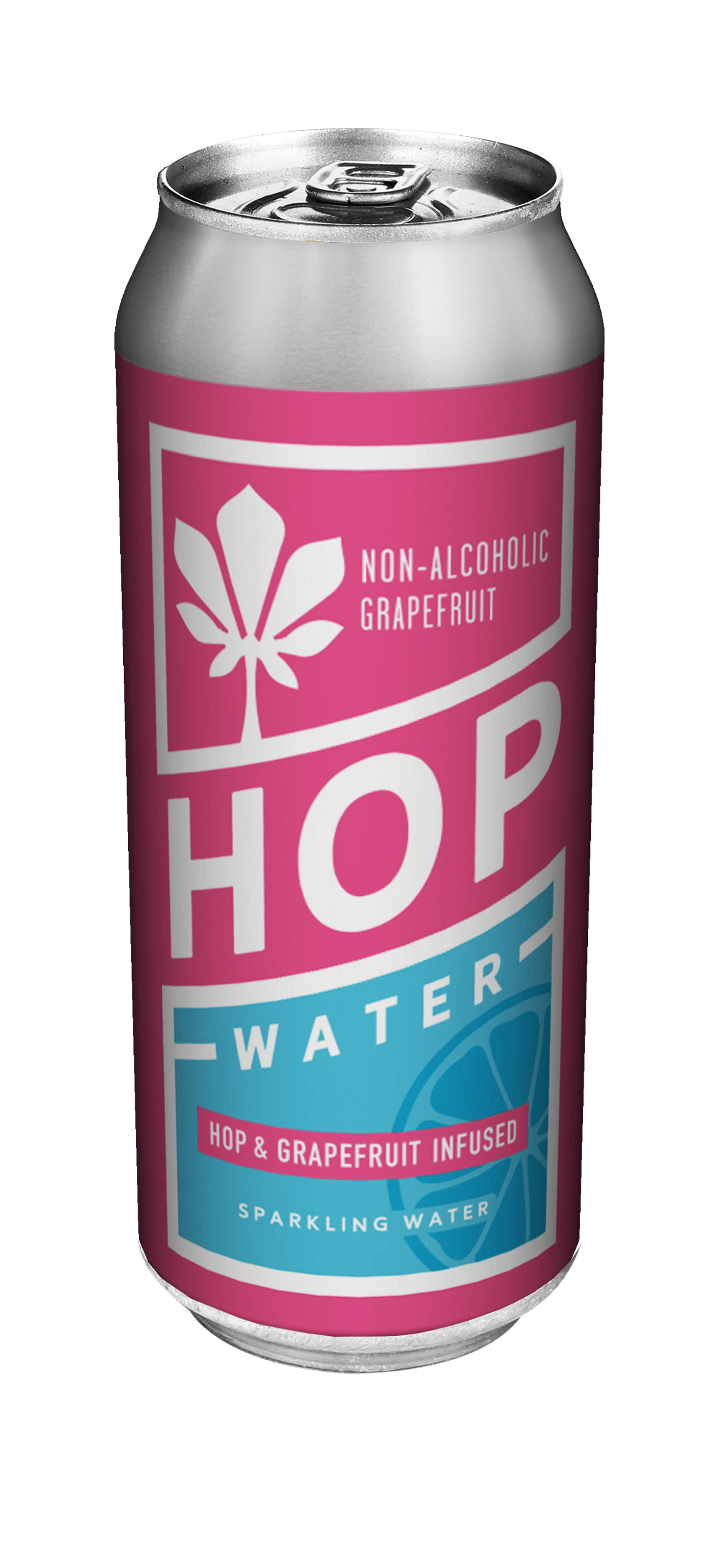 Sparkling Hop Water With Grapefruit