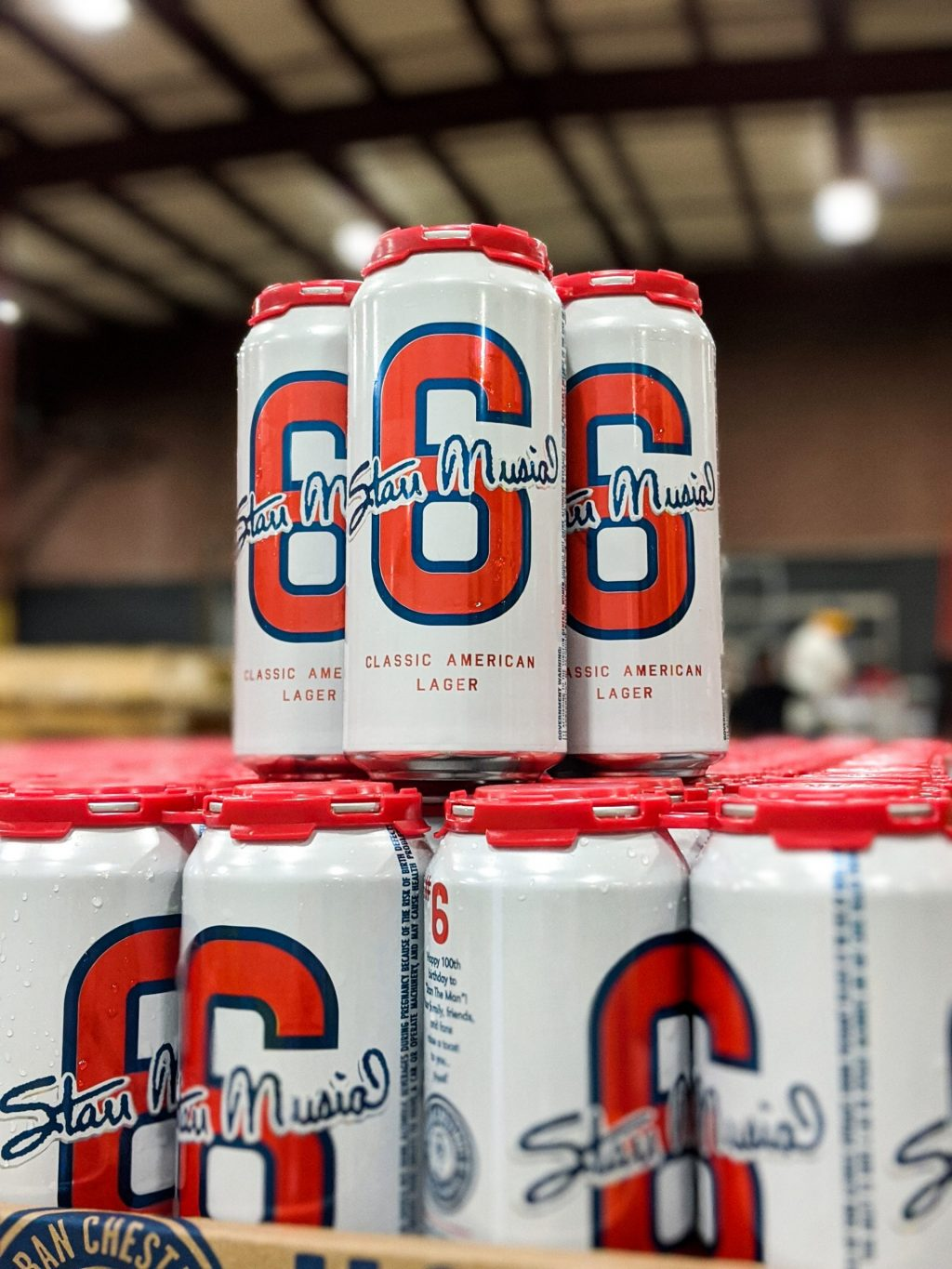 UCBC honors and celebrates Stan Musial with a special, commemorative beer - #6 Classic American Lager