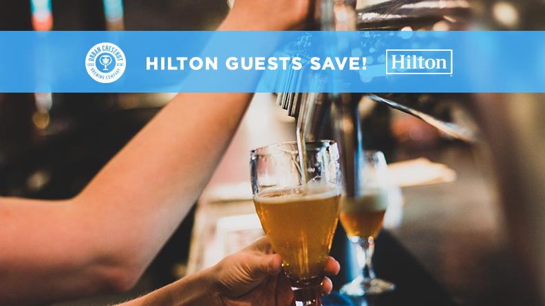 Hilton guests save at UCBC