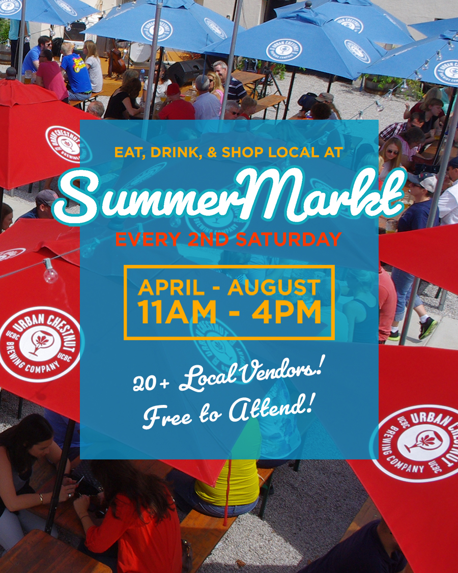 Craft beer lovers and craft vendors unite at Urban Chestnut's SUMMERMARKT