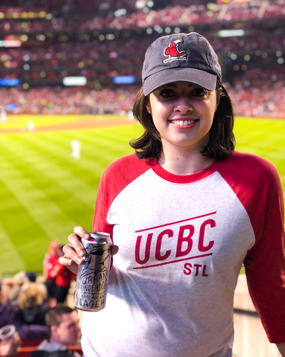 Where to find Urban Chestnut bier at Busch Stadium for the 2019 season!