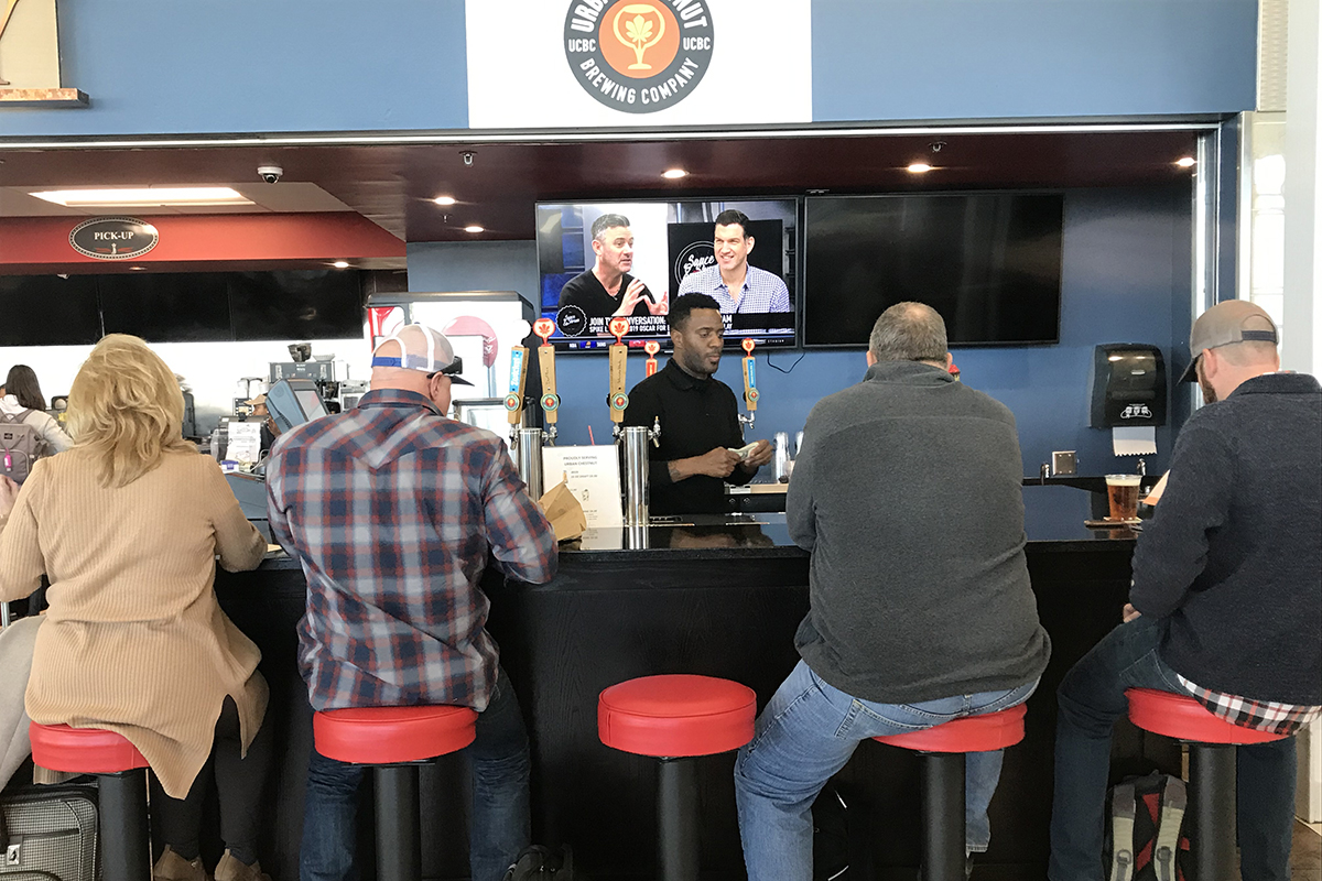 St. Louis Lambert International Airport announces the debut of the Urban Chestnut Flight Bar in Terminal 2