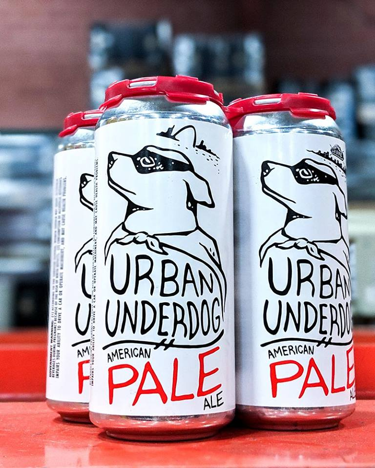 Introducing Urban Underdog American Pale - natural companion/best friend to Underdog American Lager