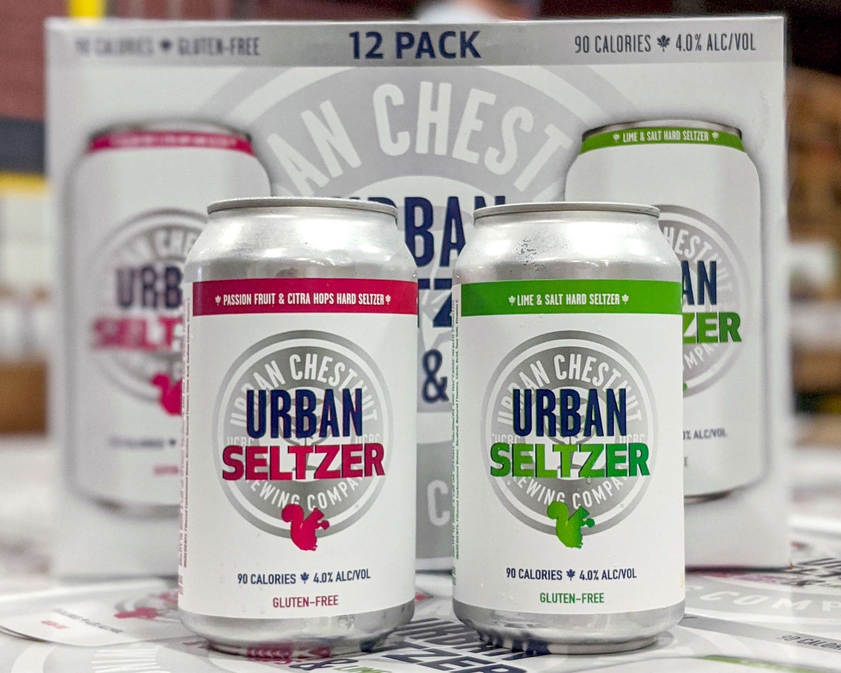 Urban Chestnut's first Hard Seltzer is now in stores: Urban Seltzer is available in two unique flavors