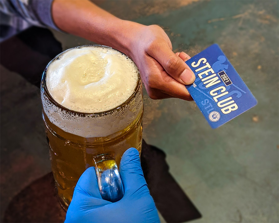 Become a member of Urban Chestnut's very first Stein Club for access to exclusive discounts and FREEbier!