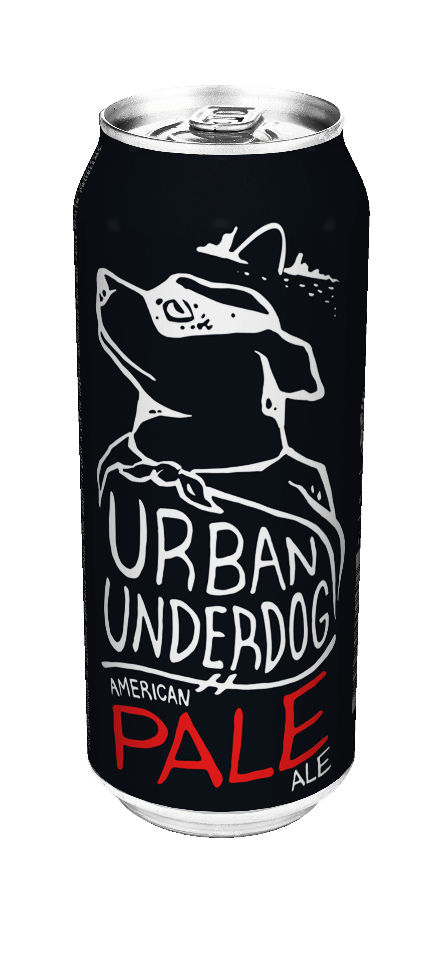 Urban Underdog American Pale—A dry-hopped, effervescent Ale…and natural companion/best friend to Underdog American Lager. Everyone loves an underdog…or two!