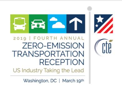 Zero Emission Transportation Reception in Washington DC