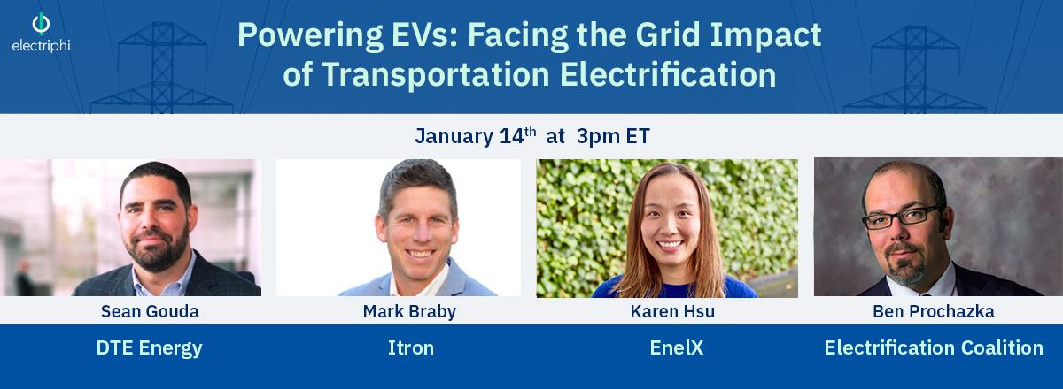 [Webinar] Powering EVs: Facing the Grid Impact of Transportation Electrification