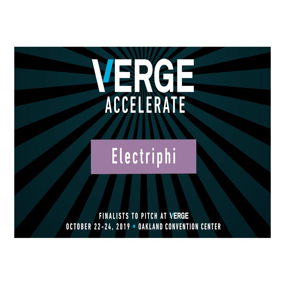 Finalist at Greenbiz's Verge19 Accelerate