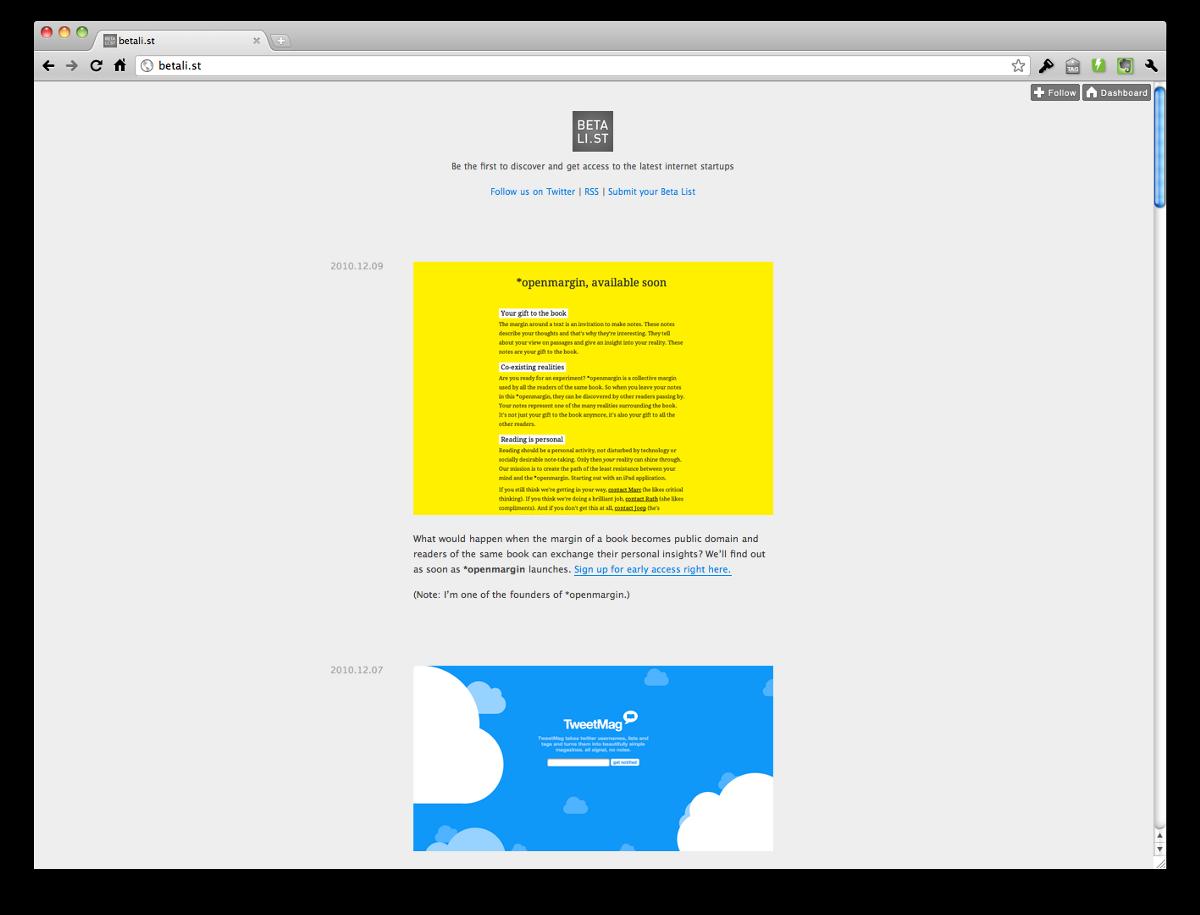flexiple-side-project-blog-betalist