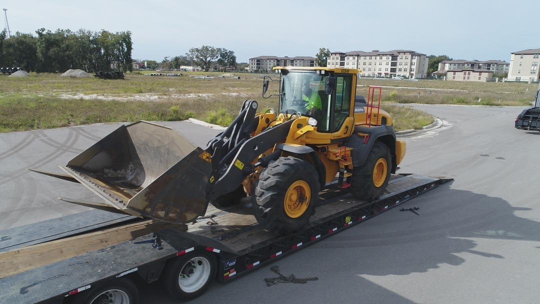 Construction Equipment delivery for CCWO