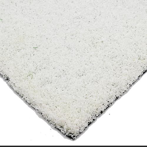 Luxury White Coloured Schools Artificial Grass