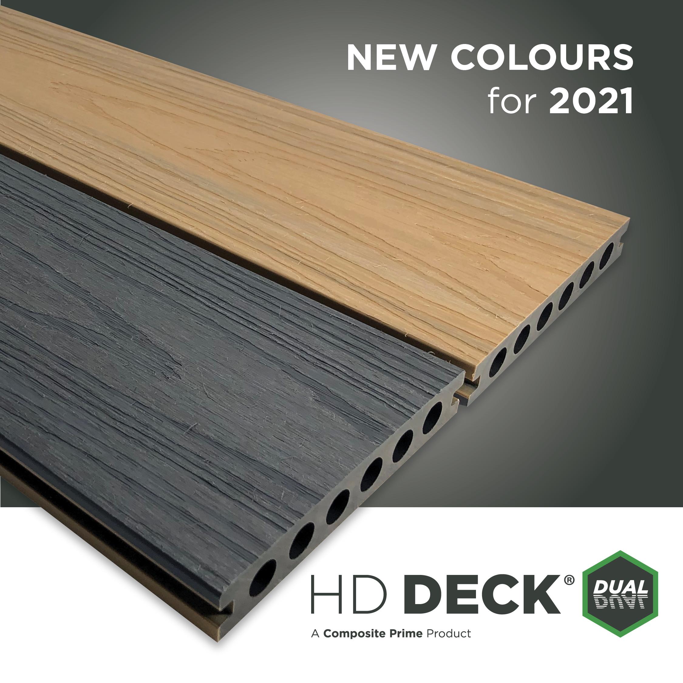 HD Deck Dual Natural Oak/Slate