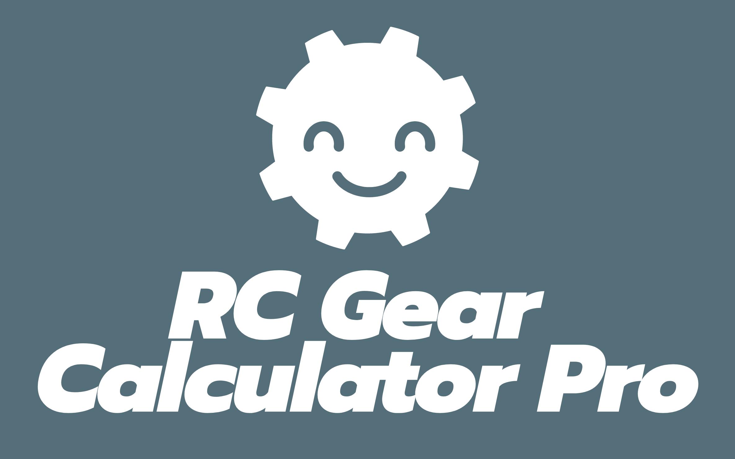 New Standalone Gear Calculator App!