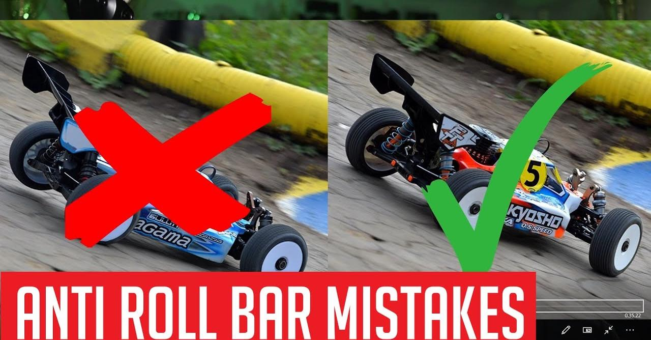 Anti-roll Bar Tuning for RC
