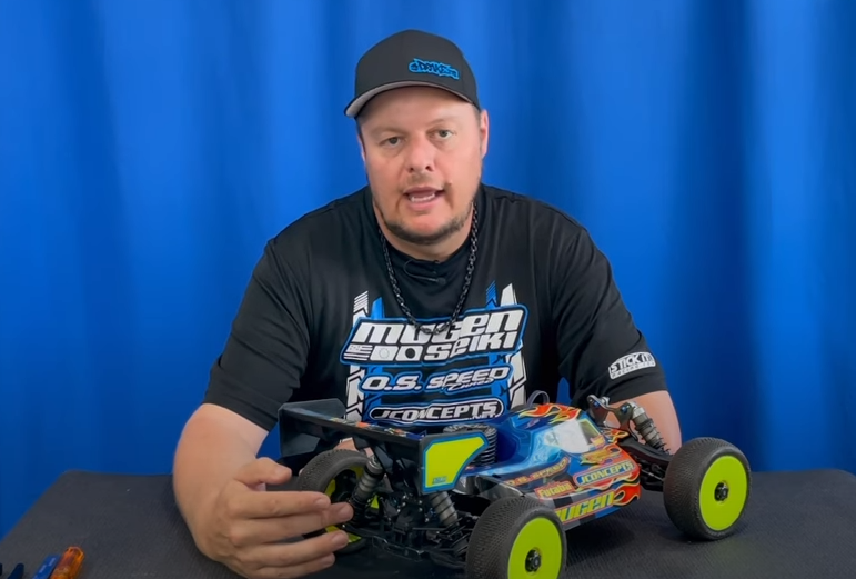 MBX8 Rear Arm Tuning for Large Tracks, with Adam Drake