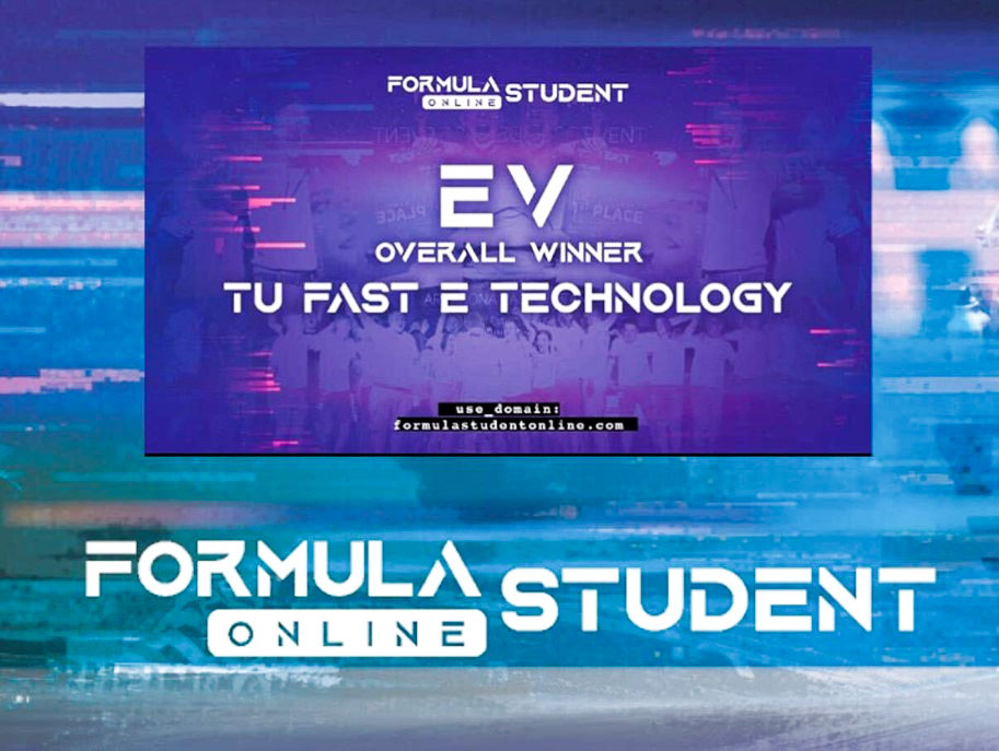 Figure 9: Announcement of overall winner in Formula Student 2020 - TUfast.