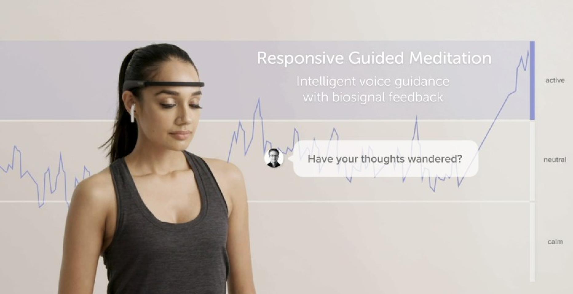 Wellness Inspired Muse Meditation Headpiece and App