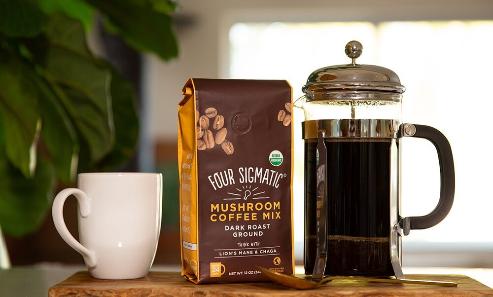 Wellness Inspired Four Sigmatic Coffee Subscription for Dad