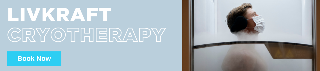 Whole body cryotherapy at Livkraft