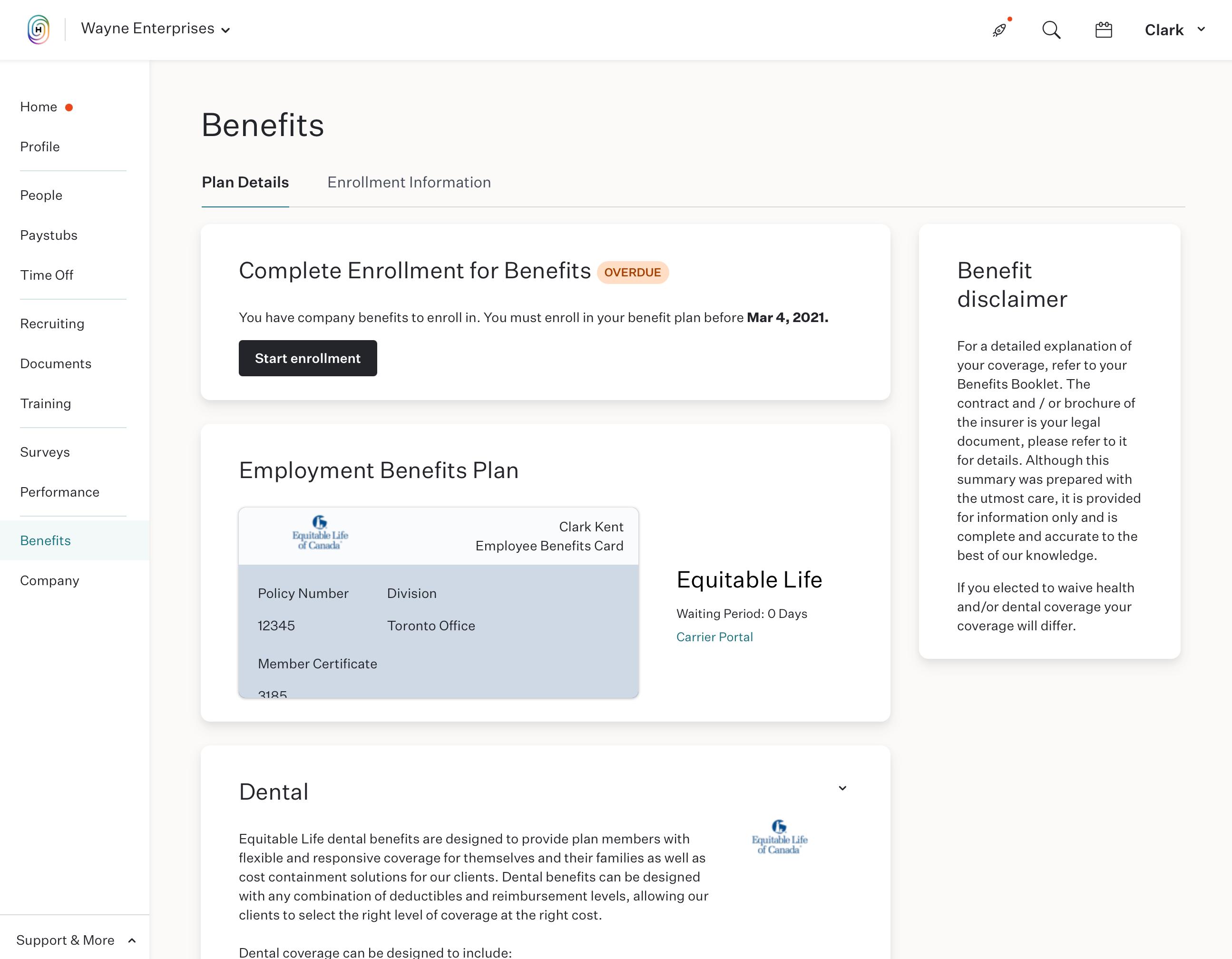 group benefits, employee health benefits, employee health benefits canada