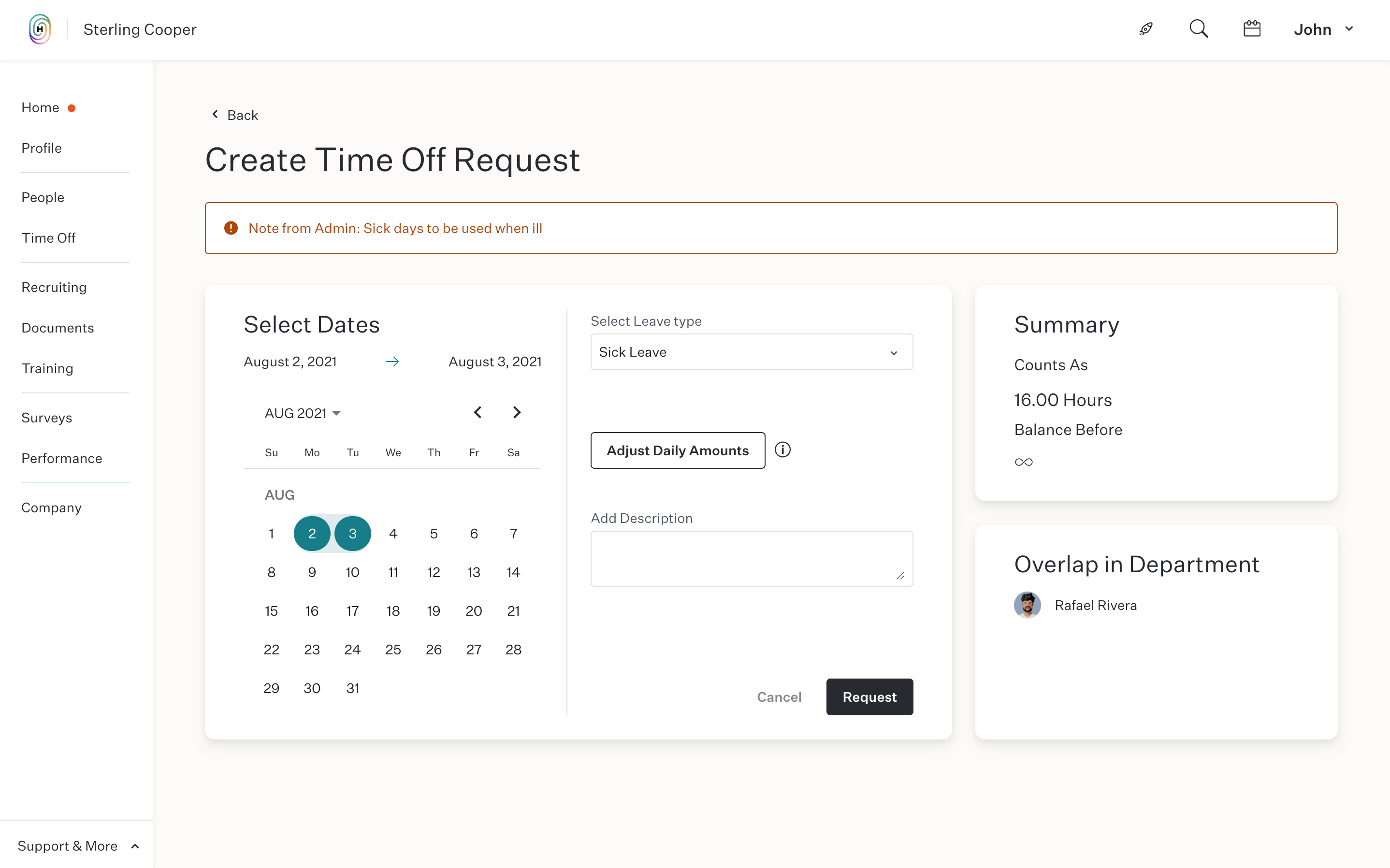 employee vacation tracking software