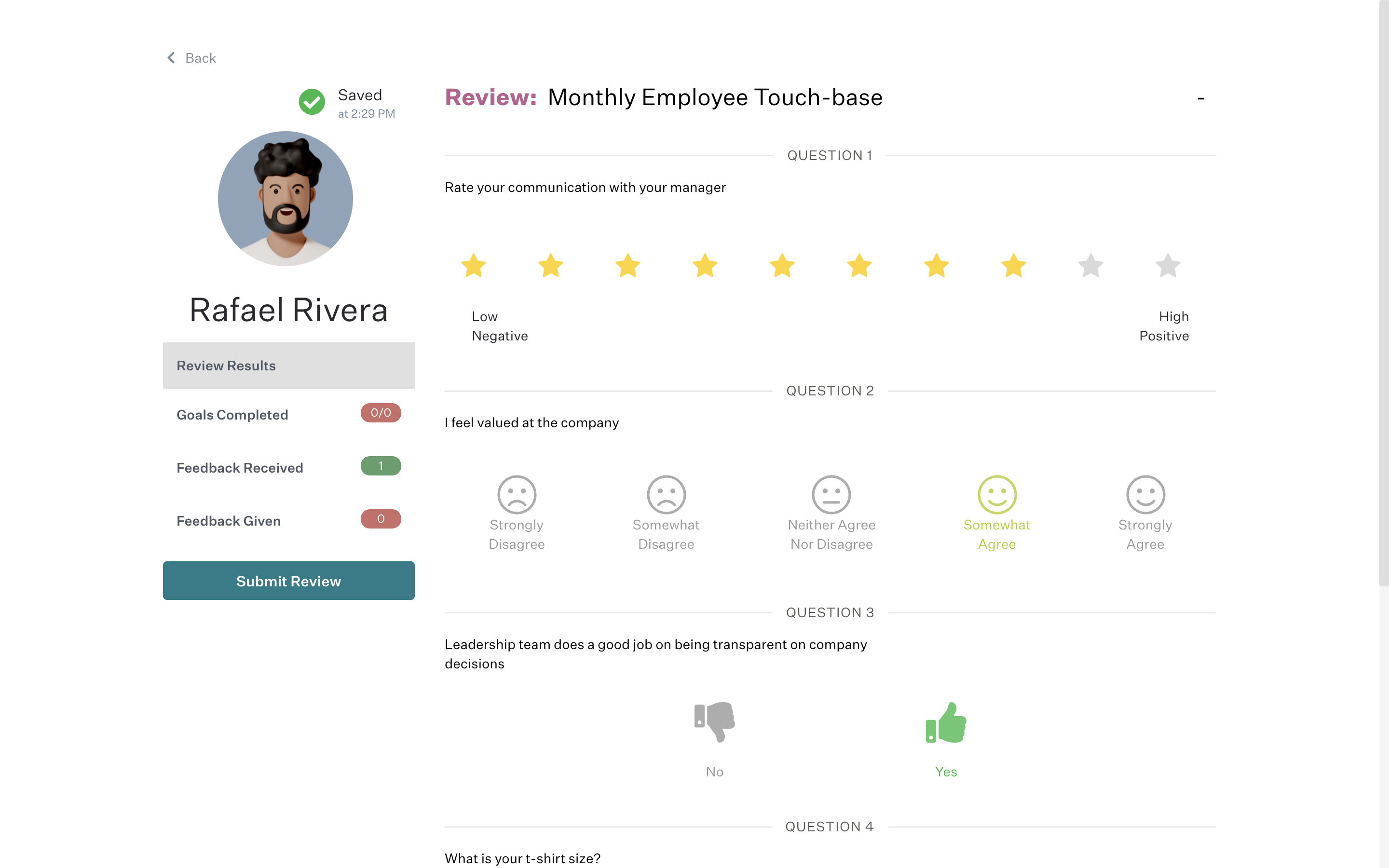 performance management, employee performance review