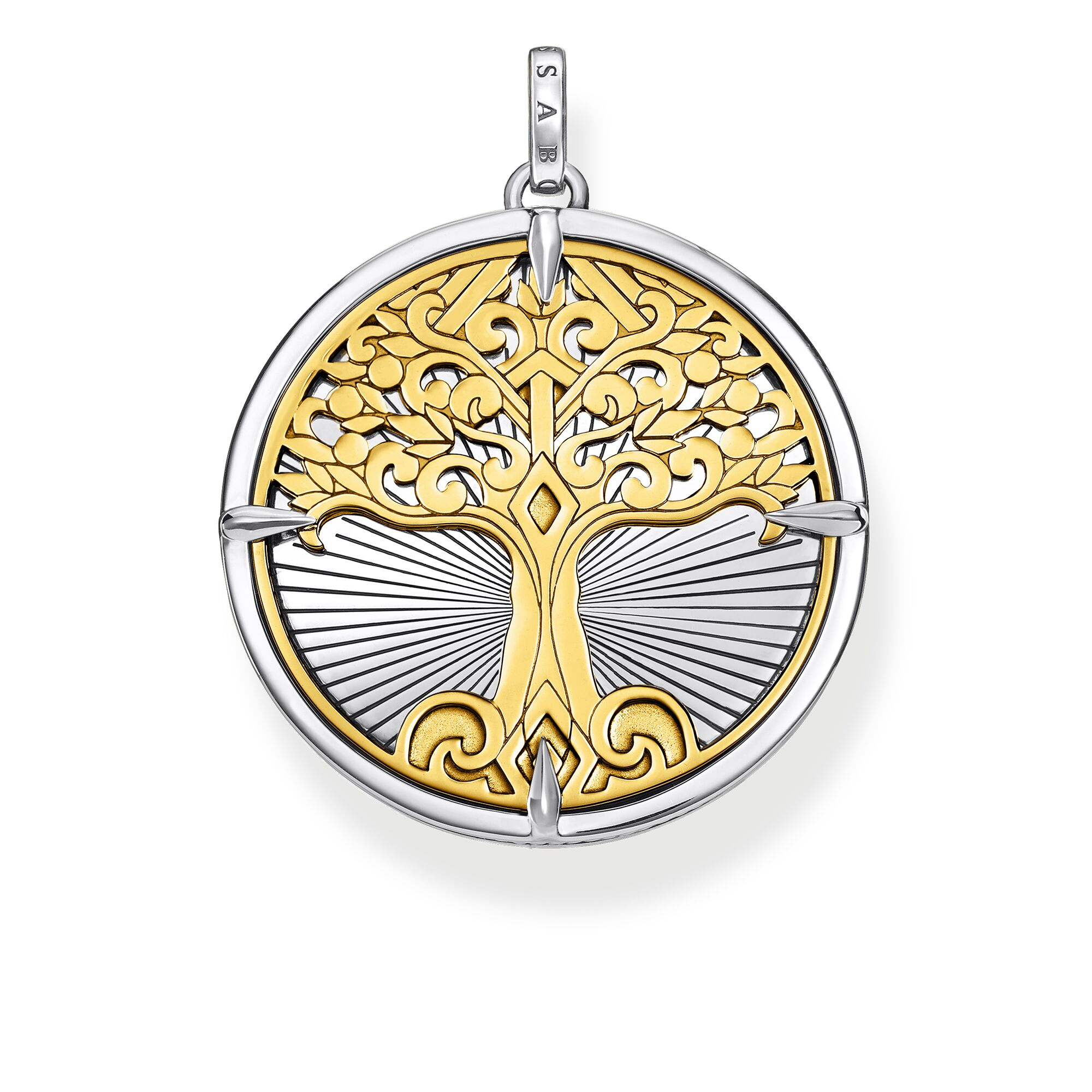 Thomas Sabo Anhänger Tree of Love gold PE885-966-39