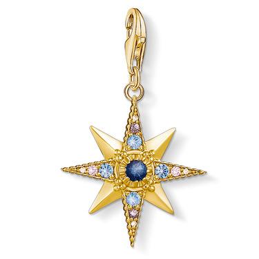 1714-959-7 Charm-Anhänger Royalty Stern