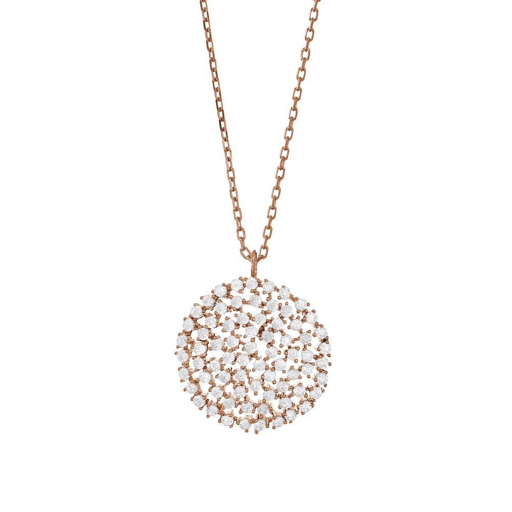 Halskette rosé DORA 246005-4